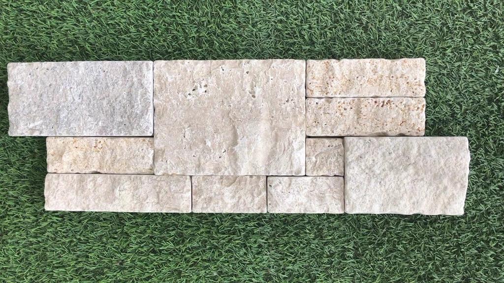 洞石墙石胶黏文化石